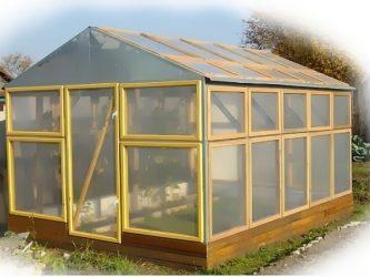 Как сделать съемную крышу у теплицы?