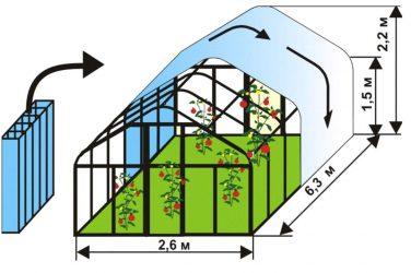 Расчет отопления теплицы из поликарбоната