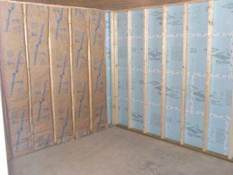 Как утеплить деревянный дом изнутри под гипсокартон?