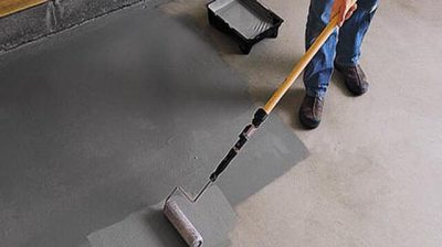 Что сделать чтобы не пылил бетонный пол?
