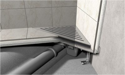 Слив для душевой кабины под плитку