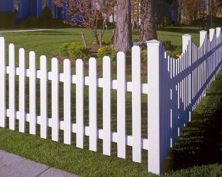 Забор для палисадника своими руками