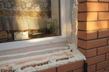 Как утеплить оконные откосы снаружи?