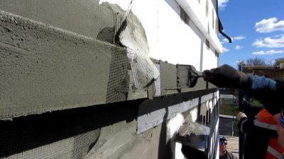 Мокрый фасад технология монтажа