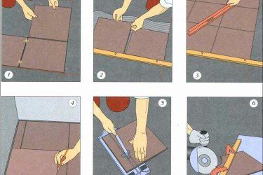 Как правильно класть кафельную плитку на пол?