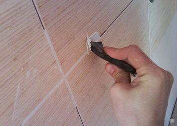 Как приготовить затирку для швов между плитками?